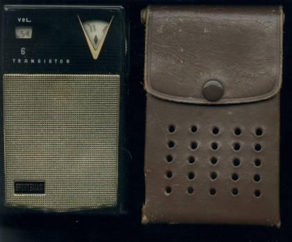My First Transistor Radio From Grandma